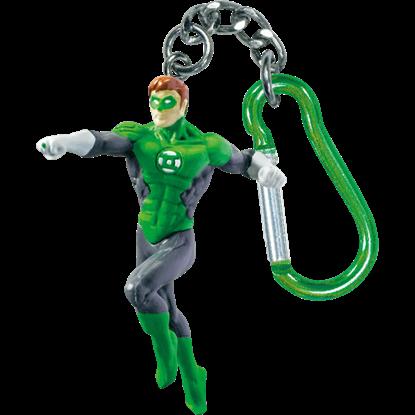 Green Lantern Action Figure Keyring