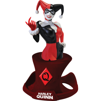 Harley Quinn Bust Paperweight