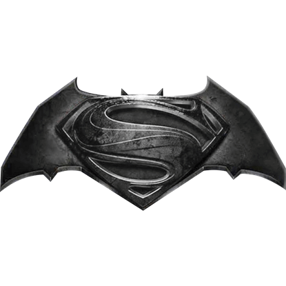 Deluxe Batman V Superman Logo Lapel Pin