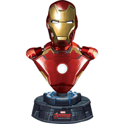 Light Up Iron Man Paperweight