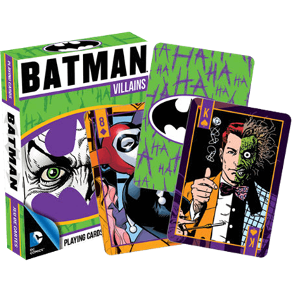 DC Comics Batman Villains Playing Cards
