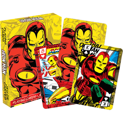 Iron Man Playing Cards
