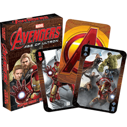 Avengers Age of Ultron Playing Cards