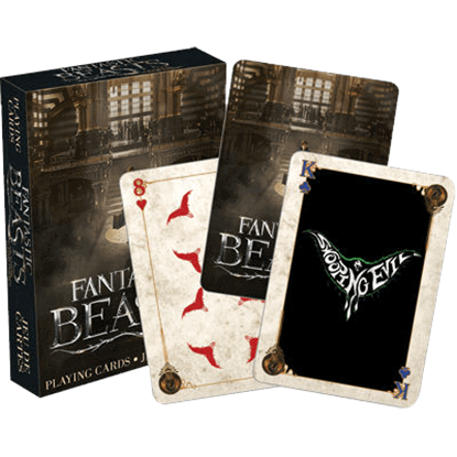Fantastic Beasts Playing Cards