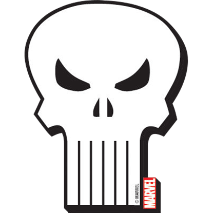 Marvel Punisher Logo Magnet