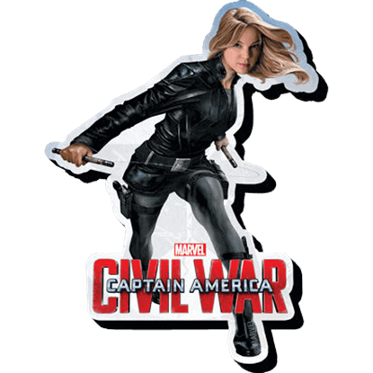 Marvel Civil War Agent 13 Magnet