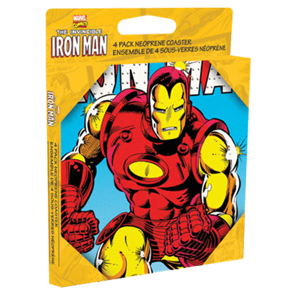 Iron Man Coaster Set