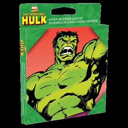 Classic Incredible Hulk Coaster Set