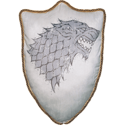 Game of Thrones House Stark Sigil Throw Pillow