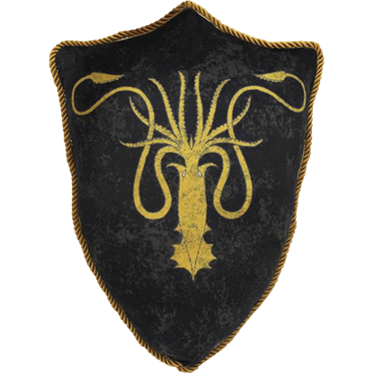 Game of Thrones House Greyjoy Sigil Throw Pillow