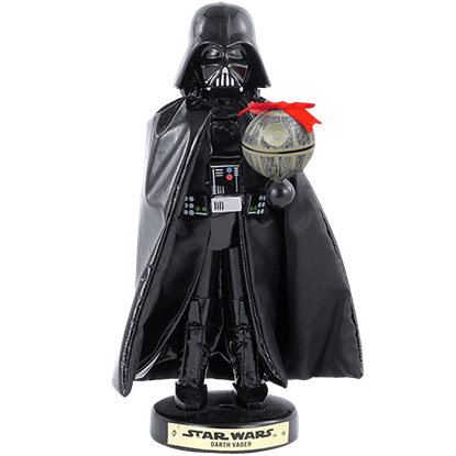 Star Wars Darth Vader with Death Star Nutcracker