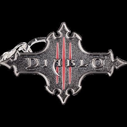 Diablo III Logo Keychain