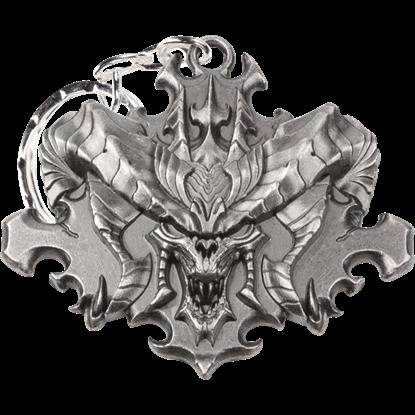 Diablo III Face Keychain