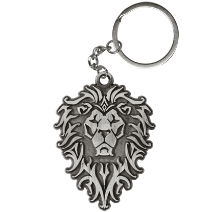 Warcraft Movie Alliance Logo Metal Keychain