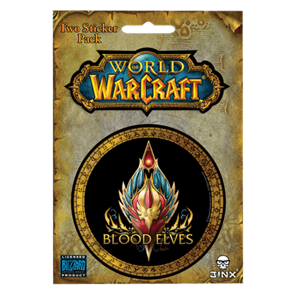 Blood Elf World of Warcraft Race Stickers