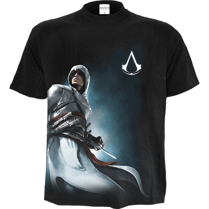 Assassins Creed Altair Side Print T-Shirt