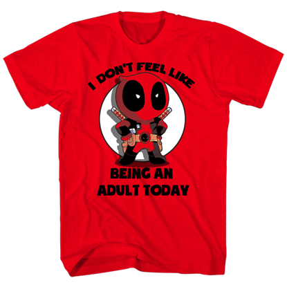 Adults Only Deadpool T-Shirt