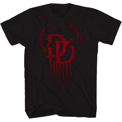 Dripping Daredevil Logo T-Shirt
