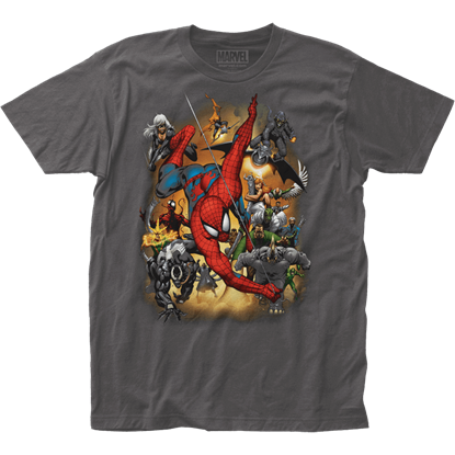 Spider-Man Villains Attack T-Shirt