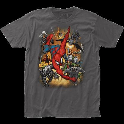 Spider-Man Villains Attack T-Shirt