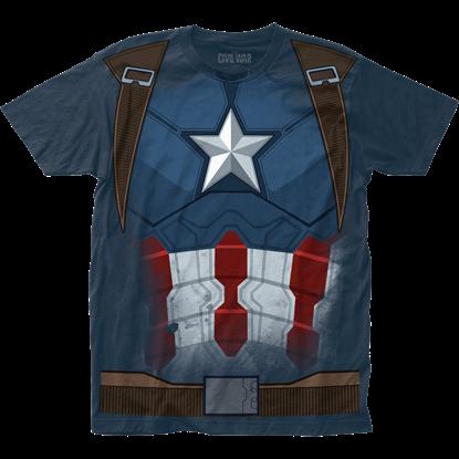 Captain America Civil War Suit T-Shirt