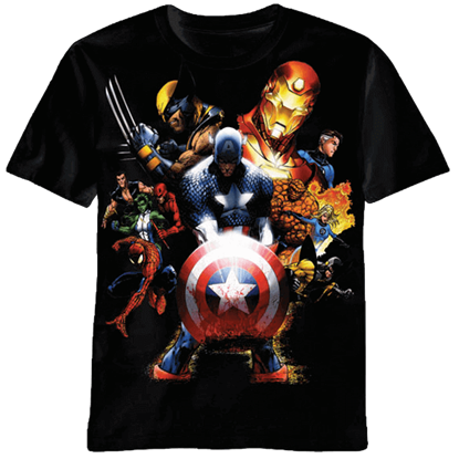 Ultimate Marvel Team-up T-Shirt