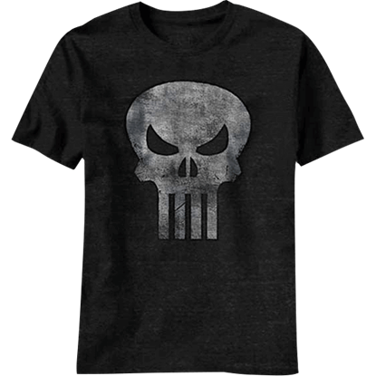 Faded Punisher Logo T-Shirt