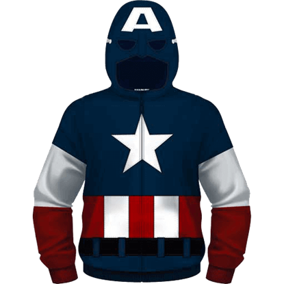 Junior Become Captain America Hoodie