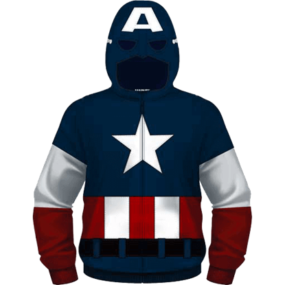 Youth Become Captain America Hoodie