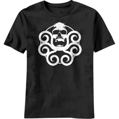 Hydra Logo Black T-Shirt