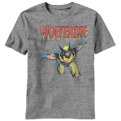 Descending Wolverine Youth T-Shirt
