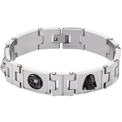 Mens Star Wars Galactic Empire Link Bracelet