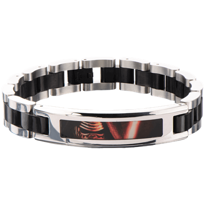 Force Awakens Kylo Ren Black Link Bracelet