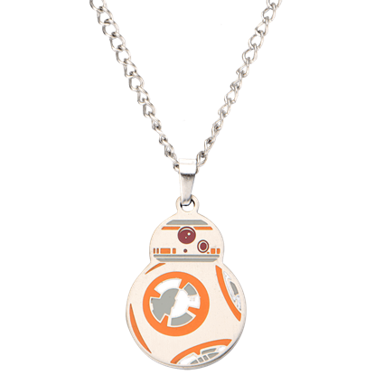 BB-8 Enamel Pendant Necklace