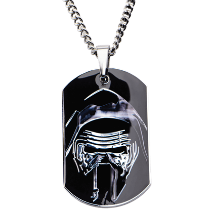 Masked Kylo Ren Dog Tag Necklace