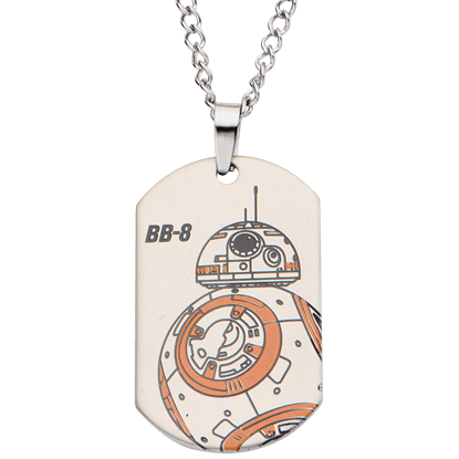 BB-8 Dog Tag Necklace