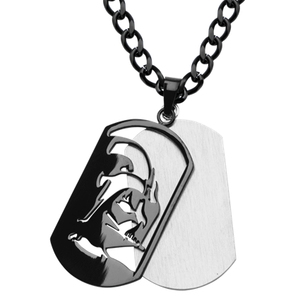 Darth Vader Dog Tag Necklace
