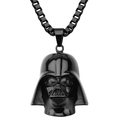 Darth Vader Black Mask Necklace