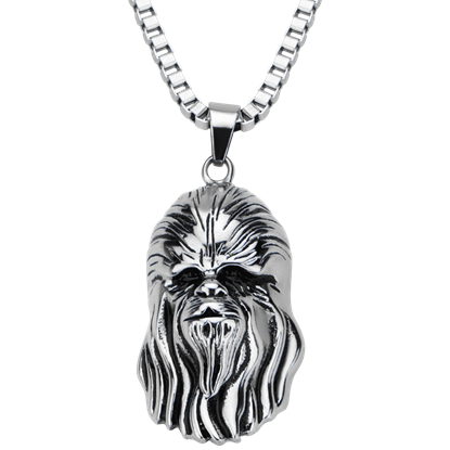 Chewbacca Face Necklace