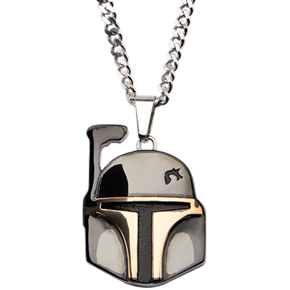 Boba Fett Helmet Necklace