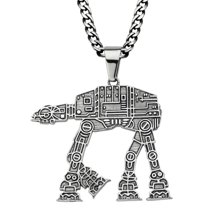 AT-AT Walker Necklace