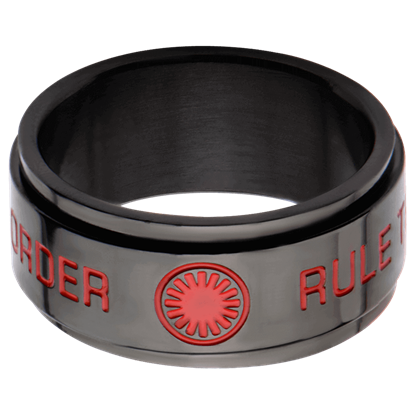 First Order Spinner Ring