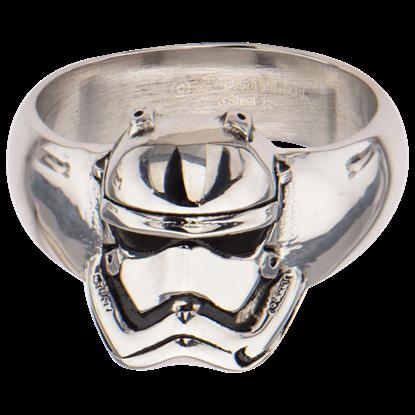 First Order Stormtrooper Helmet Ring