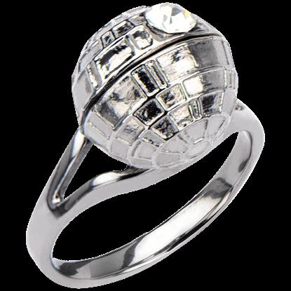 Death Star 3D Crystal Ring