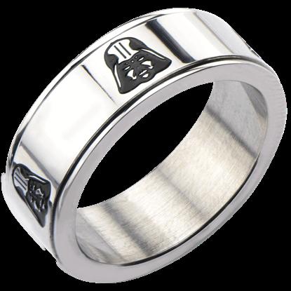 Darth Vader Helmet Spinner Ring
