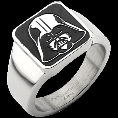 Darth Vader Helmet Signet Ring