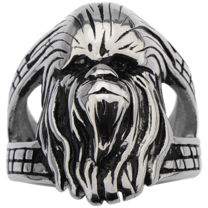 Chewbacca 3D Face Ring