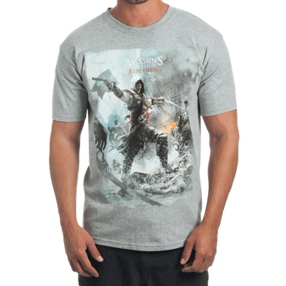 Assassins Creed IV Black Flag Game T-Shirt