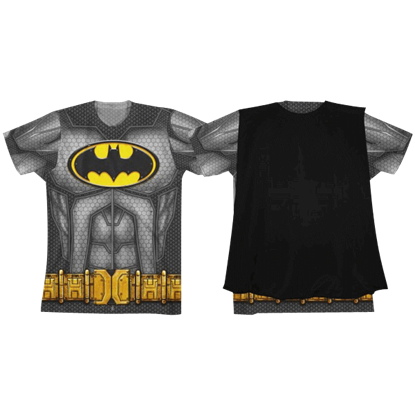 Batman Youth Sublimated Cape T-Shirt