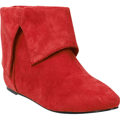 Womens Harlequin Ankle Boots